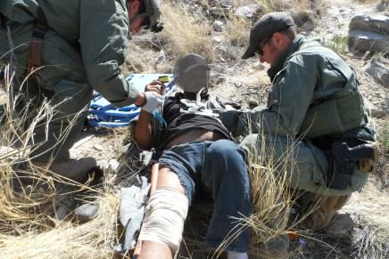Reporta Patrulla Fronteriza mas rescates de migrantes, en el desierto de Arizona