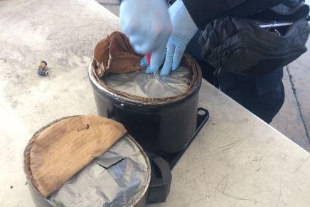 Encuentran cargamentos de droga en Querobabi, uno de ellos venía para Nogales