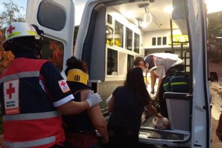 Confirman identidades de los diez lesionados tras volcamiento de combi