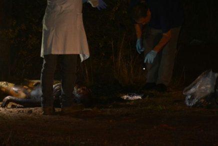 Fue asesinado a golpes sujeto hallado calcinado anoche en las afueras de Nogales