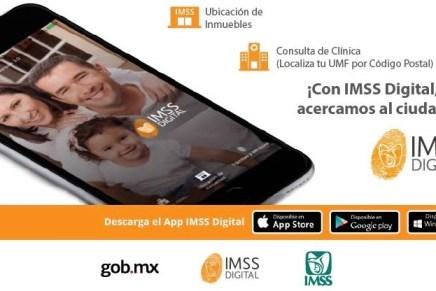 Viajeros pueden obtener vigencia de derechos con la App IMSS Digital en Sonora
