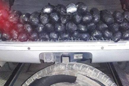 Llevaba señora camioneta cargada de metanfetaminas, en Nogales