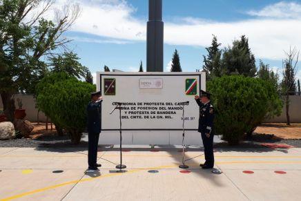 Instalan a nuevo Comandante en base militar de Agua Prieta