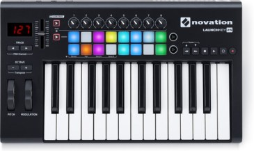 midi controller Novation Launchkey 25