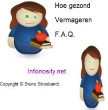 Hoe vermageren Faq. Copyright (c) Bruno Stroobandt.