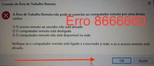 erro 7666660