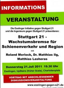 Stuttgart 21 - Wachstumsbremse für Schienenverkehr und Region