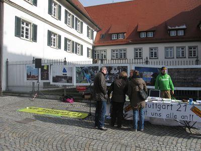 Infostand in BWaldsee