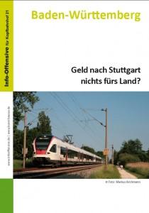 Geld nach Stuttgart nichts fürs Land?