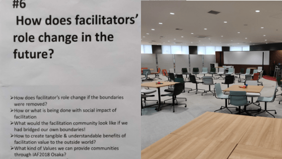 Power of facilitation - here and there