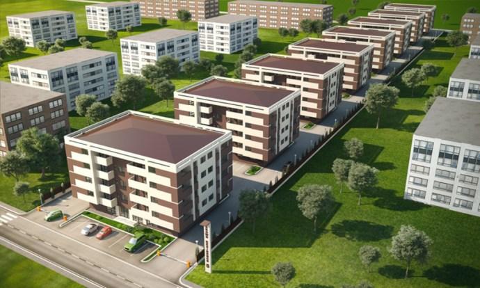 Străzi, drumuri, alei rutiere şi spaţii de parcare în noul cartier Ceyrat din Oradea