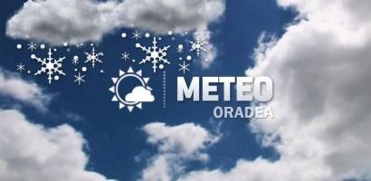 Vremea in Oradea, in saptamana 28 noiembrie – 4 decembrie. Ninsori, vant si temperaturi scazute