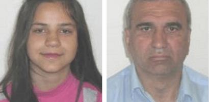 Doua persoane disparute de acasa, o minora si un adult.