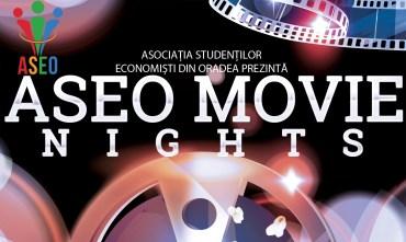 "Studentii economisti, din Oradea, organizeaza ""ASEO Movie Nights"", pentru studenti si elevi"