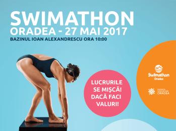 22 de cauze locale pentru cel mai mare eveniment filantropic bihorean, Swimathon Oradea 2017