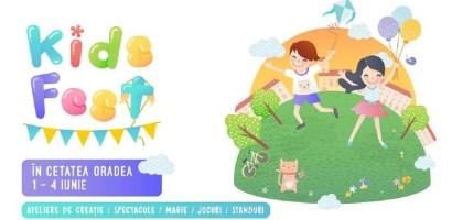 Sustine un concert sau danseaza la cel mai mare festival pentru copii din Oradea, Kids Fest Oradea
