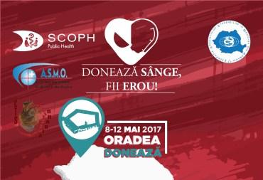 """Studentii medicinisti de la Universitatea Oradea, organizeaza campania: """"Donează sânge! Fii erou!"""""""