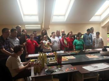 ALDE Bihor a organizat o activitate dedicată copiilor cu dizabilități, desfășurată la Asociația Down Oradea.