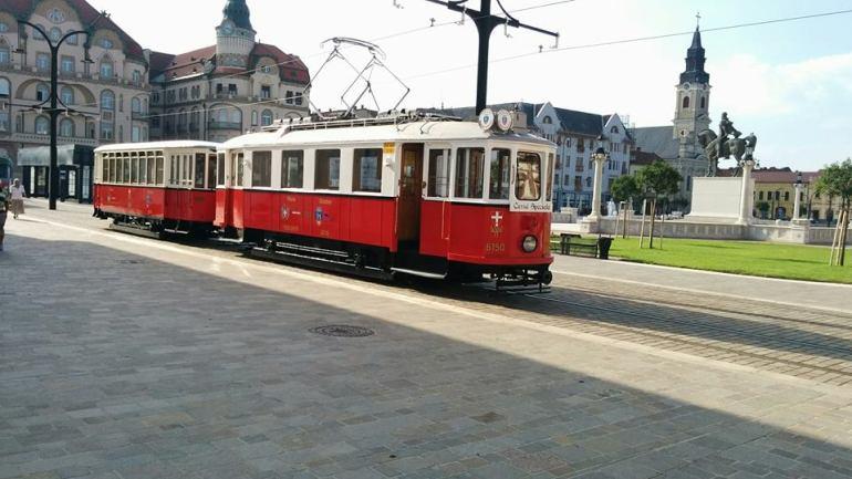 Duminica, 23 iulie, o noua cursa a Tramvaiului de Epoca din Oradea (FOTO)