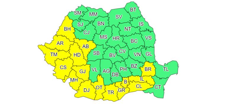 Codul galben de canicula se prelungeste, in Bihor, pana luni. Temperaturi de 37 de grade C, la umbra
