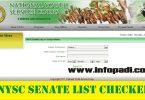 NYSC senate list checker
