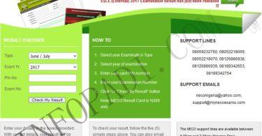 NECO RESULT CHECKER 2019/2020- How to check and print out your NECO result- mynecoexams.com