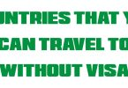 40+ Countries you can travel to without having a visa- travel abroad from Nigeria