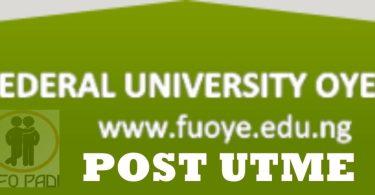 FUOYE Post UTME Screening