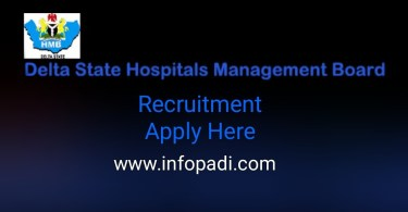 state Hospital Management Board Recruitment