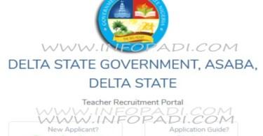 Delta state government job