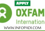 Media & Communications Officer Recruitment at Oxfam Nigeria- Apply