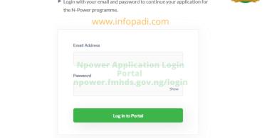 Npower login portal 2020