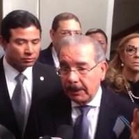 """Presidente Medina dice """"hay un nuevo brote de violencia"""" y la Policía está trabajando"""
