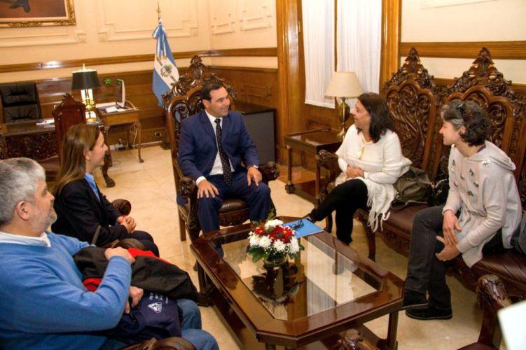 El gobernador Valdés recibió a la Administradora General de la Dirección de Vialidad Nacional