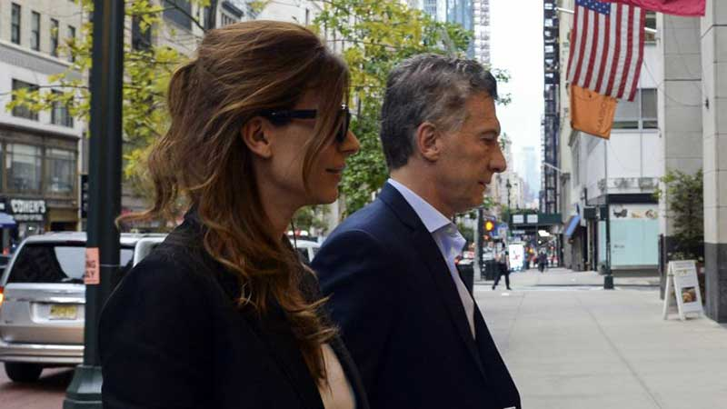 Mauricio Macri en Nueva York