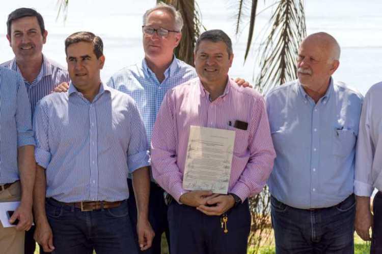 Intendentes radicales brindan apoyo incondicional a Guillermo Osnaghi