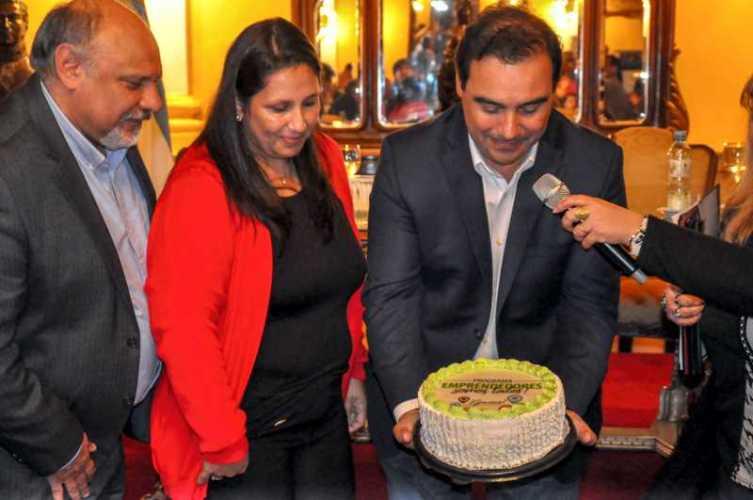Valdés ratificó su apoyo a emprendedores correntinos