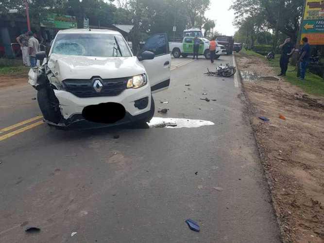 Accidente fatal en Paso de la Patria