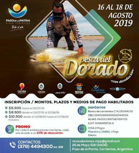 56° Fiesta Nacional de la Pesca del Dorado Paso de la Patria