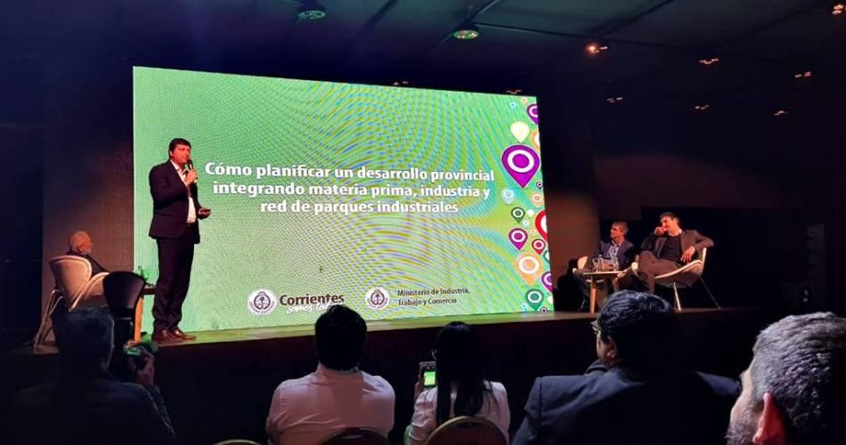 Corrientes expuso en Somos Industria