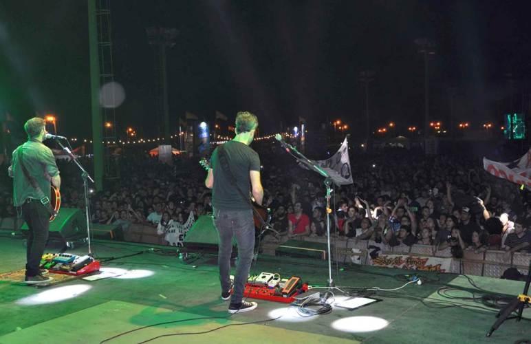 Taragüí Rock primera jornada un éxito