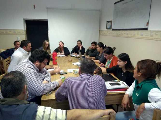 El Intendente Osnaghi y equipo trazan proyecto Verano 2020