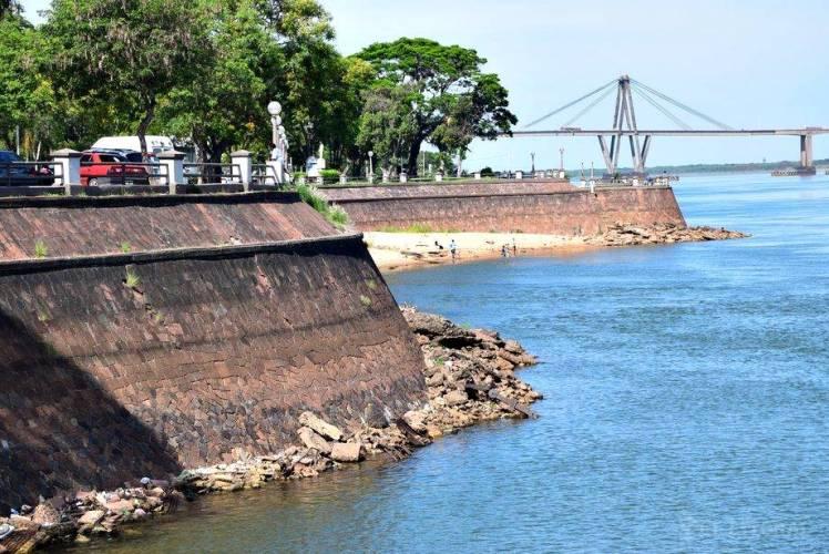 El caudal del río Paraná es el más bajo desde 1978