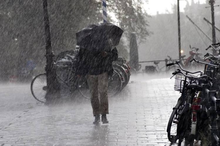 Alerta meteorológico por tormentas intensas