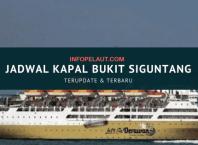 Jadwal Kapal Pelni Bukit Siguntang tahun 2020