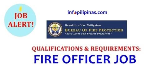bfp fire service recruitment 2018