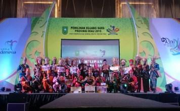 Bujang Dara Provinsi Riau 2015