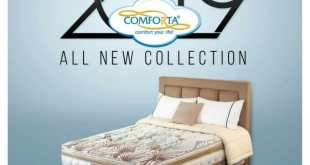 Comforta 2019 All New Collection, Varian Terbaru Comforta