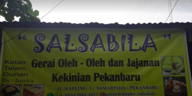 Gerai Oleh Oleh Salsabila, Gerai Oleh-Oleh dan Jajanan Kekinian di Pekanbaru