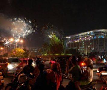 Malam Tahun Baru di Pekanbaru